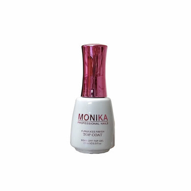 .MONIKA Professional - UV/LED Soak off Gel (No-Wipe) TOP COAT -  0.5 fl.oz/15mL