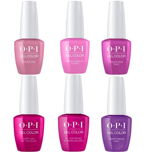 OPI GELCOLOR SPRING 2019 TOKYO COLLECTION #1