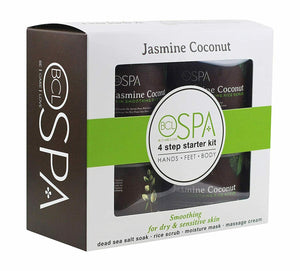 BCL Spa 4 steps Pedicure Jasmine Coconut Starter Kit