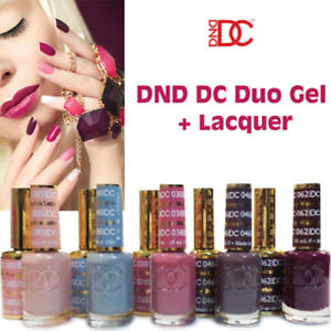 DND - DC Duo Soak off Gel & Matching Nail Polish Collection