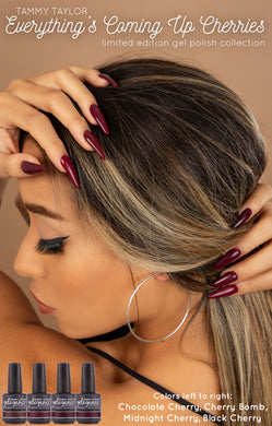 Tammy Taylor Nails - Soak Off Gel Polish Collection Everything's Coming Up Cherries!