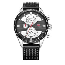 3asybuy Men's Watches Black Gray 2018 New Men's Watches Fashion Sports quartz-watch stainless steel