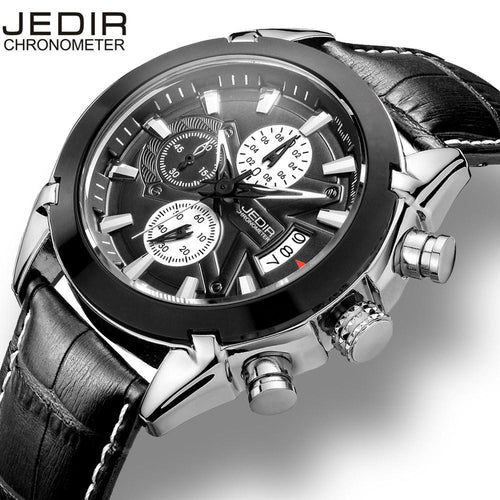 3asybuy Military Watches Men JEDIR Calendar Chronograph Military Watches Men