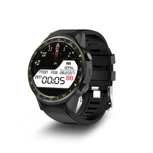 3asybuy Smartwatch Black F1 Touchscreen GPS Sport Smartwatch