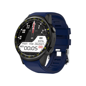 3asybuy Smartwatch Blue F1 Touchscreen GPS Sport Smartwatch