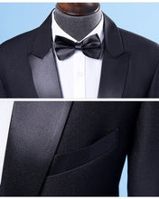 Black tie ensemble