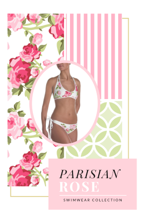 This collection features soft pinks and greens, shabby chic roses and abstract patterns