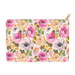 Accessory & Cosmetic Travel Pouches - Floral Escape