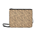 Slim Convertible Crossbody Clutch Bag - Cheetah Print