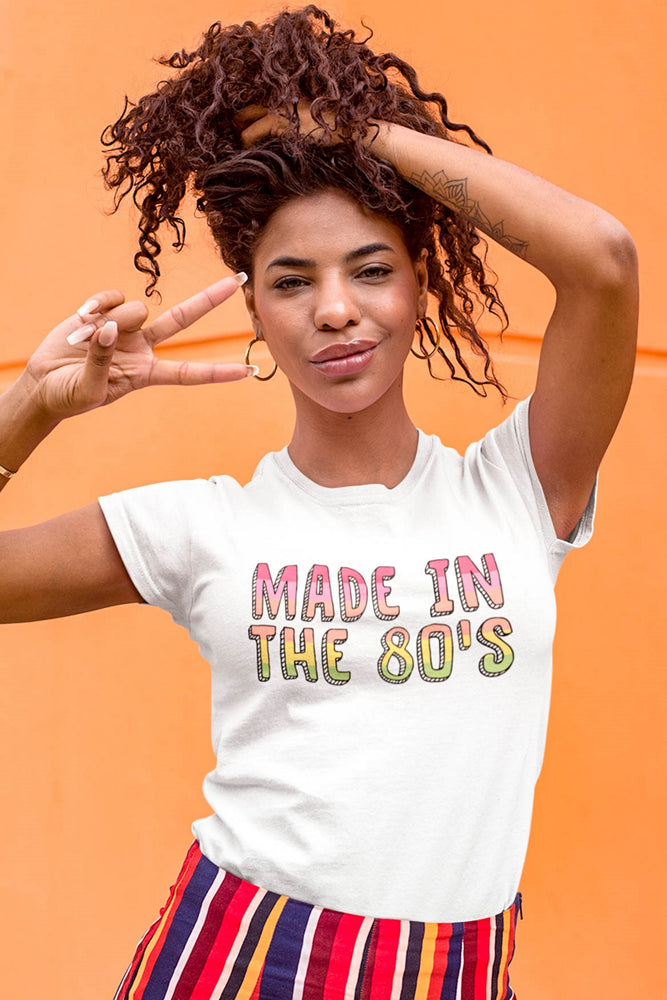 Made in the 80's Women's Fitted Tee