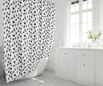 "71"" x 74"" Shower Curtain - Dalmatian Print"