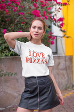 Looking for Love in All the Right Pizzas - Short-Sleeve Unisex T-Shirt