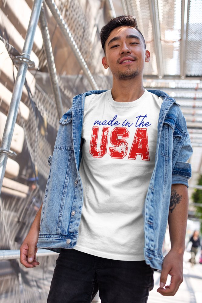 Made in the USA - 4th of July Short-Sleeve Unisex T-Shirt