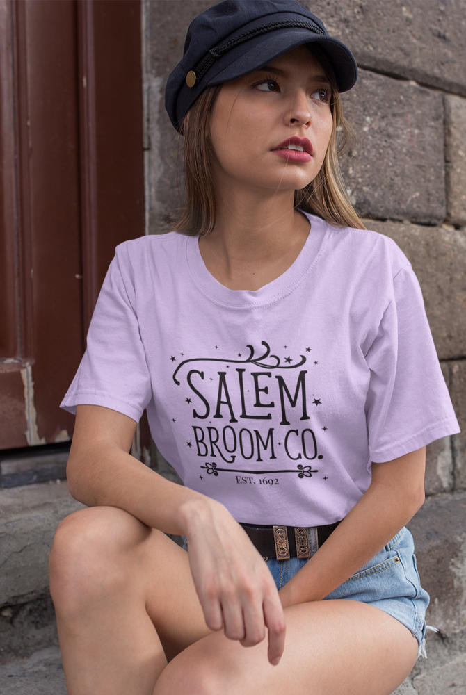 Short-Sleeve Unisex T-Shirt - Halloween Salem Broom Co.