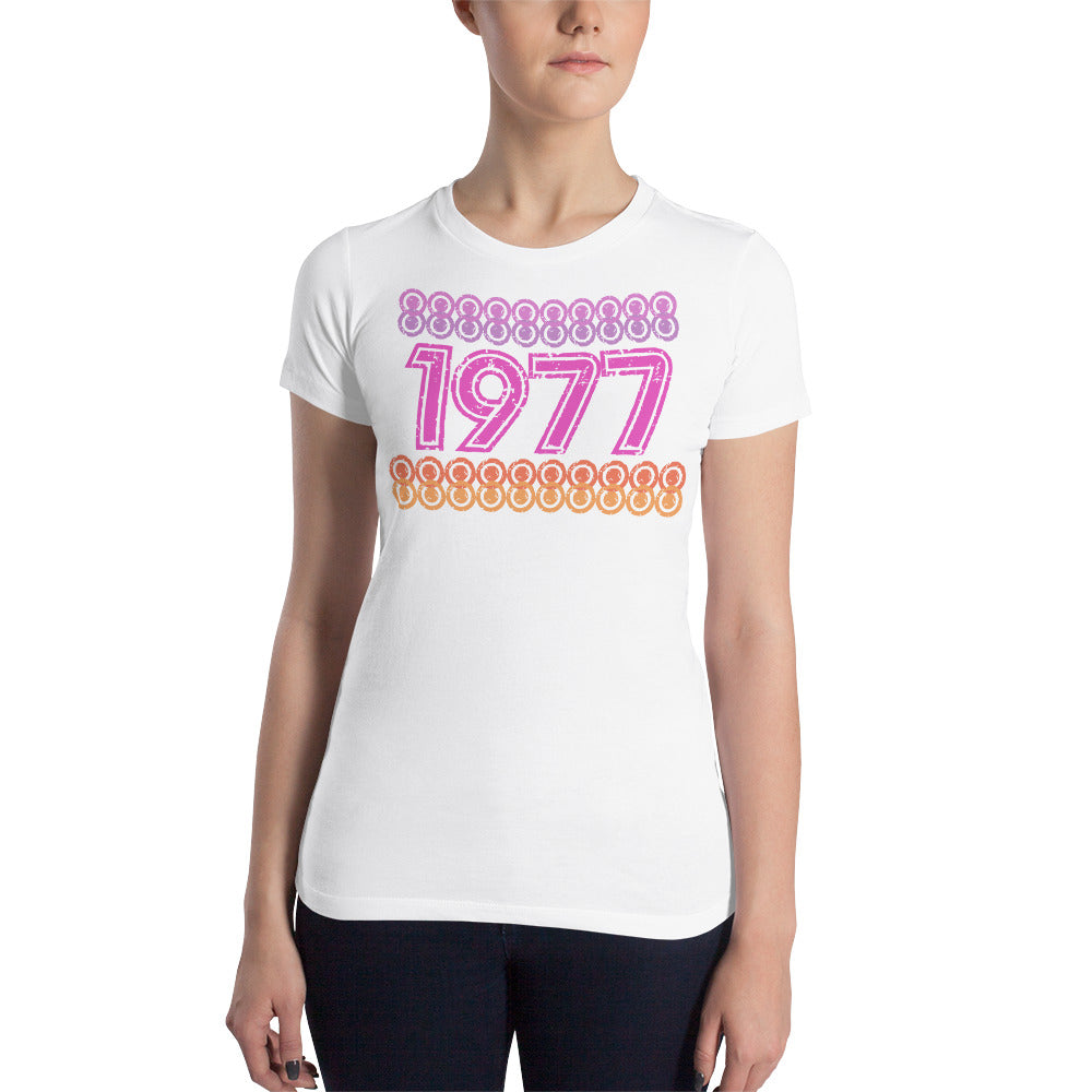 Women's 1977 Fitted Tee