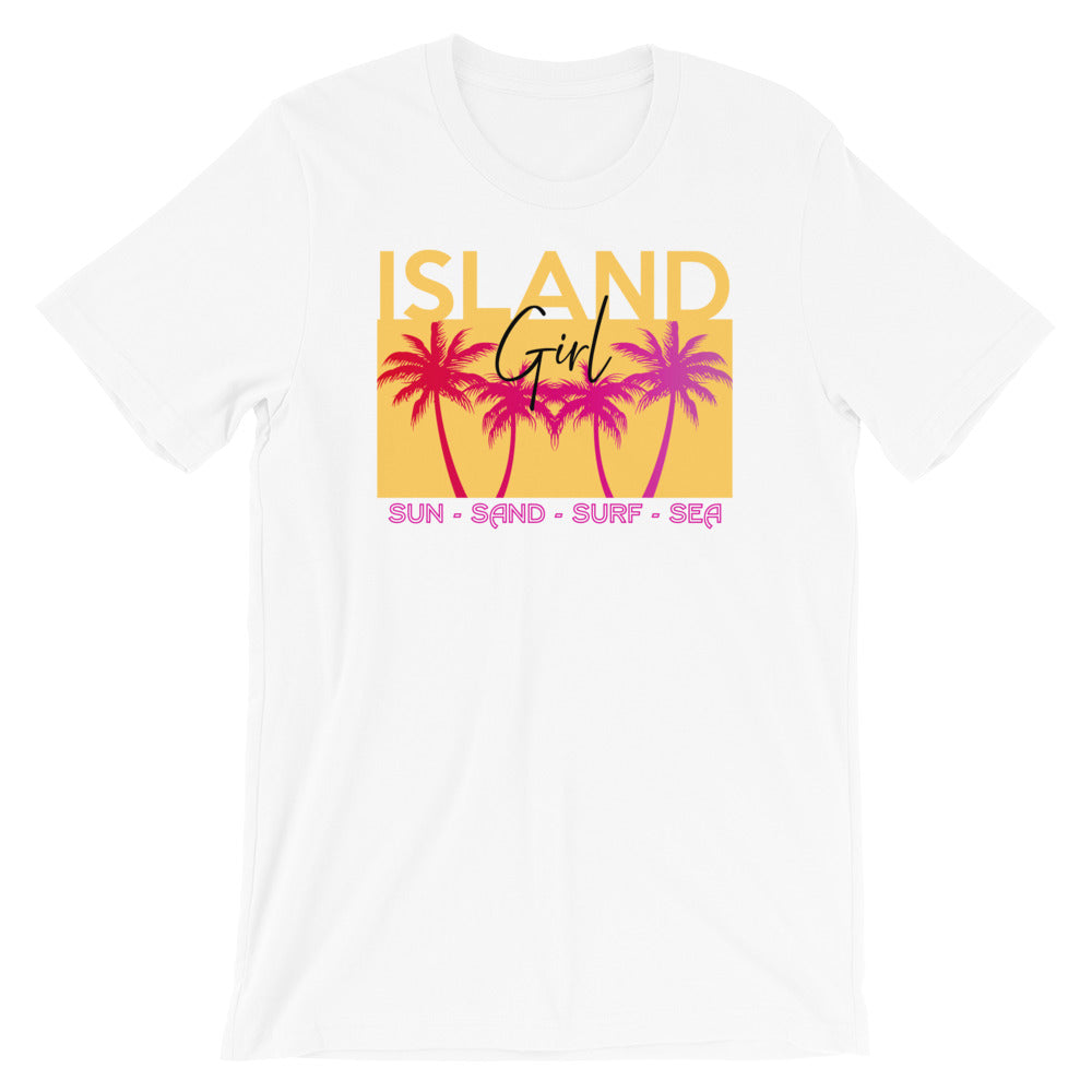 Island Girl Graphic Tee - Short-Sleeve