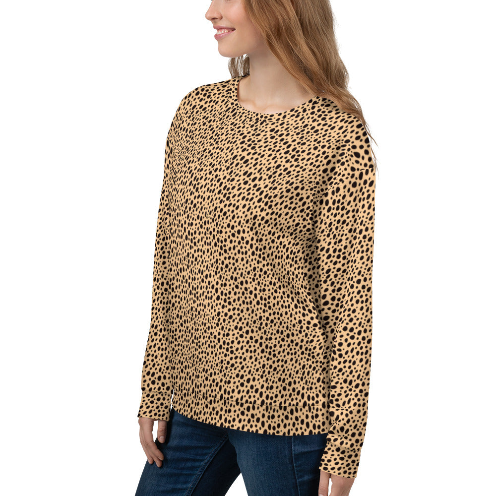 Cheetah Women's Pullover Sweatshirt