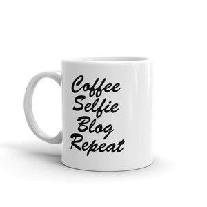 11 oz. Mug - Coffee Selfie Blog Repeat