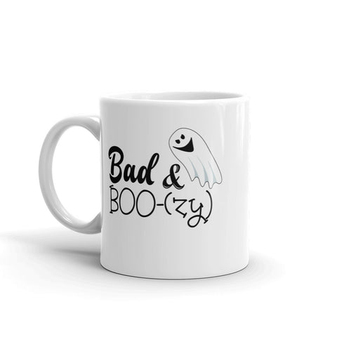 11 oz. Mug - Halloween Ghost Mug - Bad N Boozy