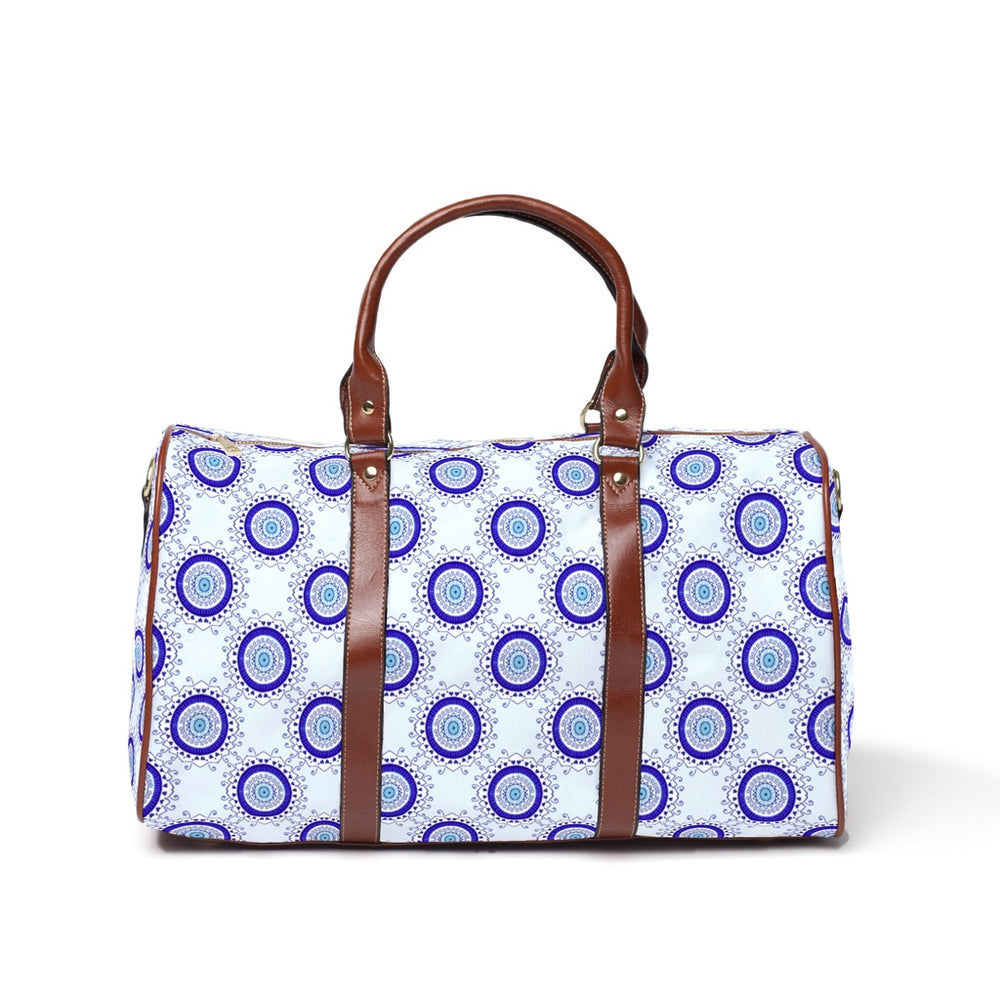 Large Weekender Travel Bag - Ornate Evil Eye