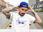 America Patriotic 4th of July Stars - Unisex Tee
