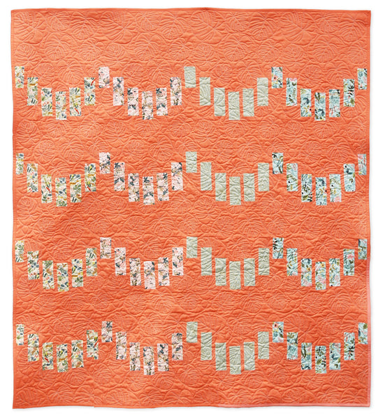 Striped Scallops Quilt Pattern (PDF)