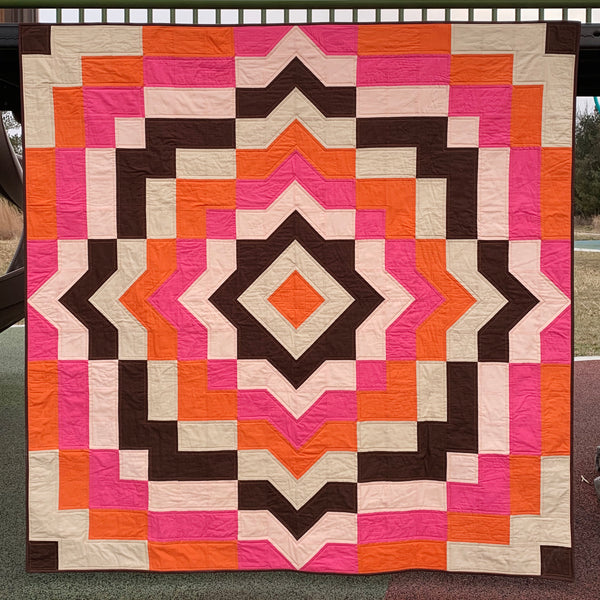 Warp Speed Quilt Pattern (PDF)