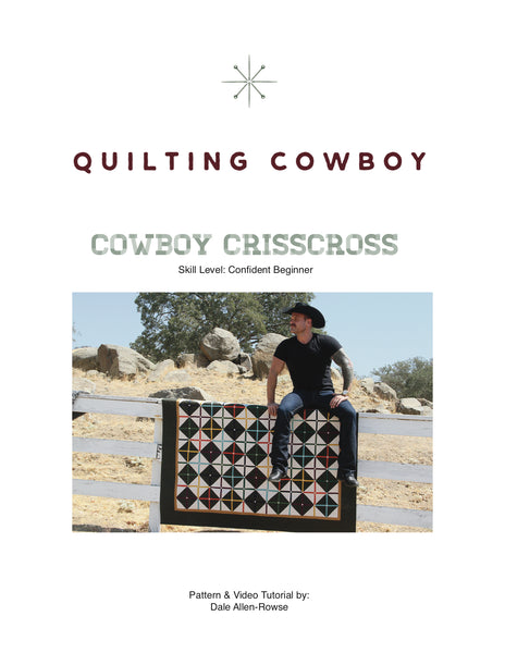 Cowboy Crisscross Pattern + Video Tutorial (PDF)