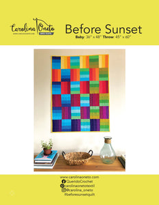 Before Sunset Quilt Pattern (PDF)