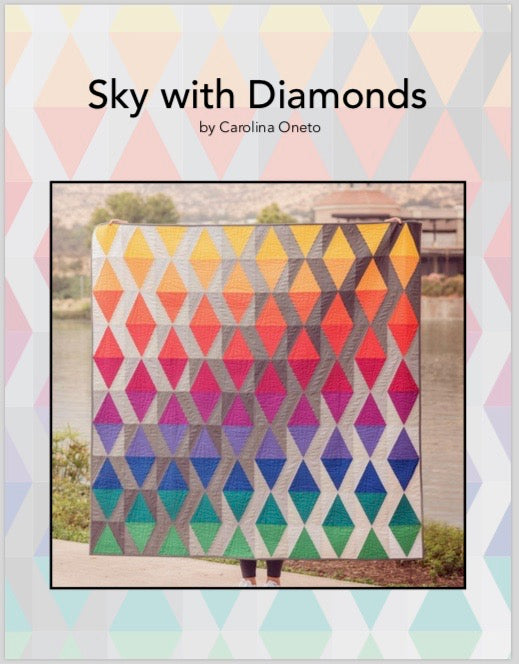 Sky with Diamonds Quilt Pattern (PDF)