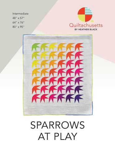 Sparrows at Play Quilt Pattern (PDF)