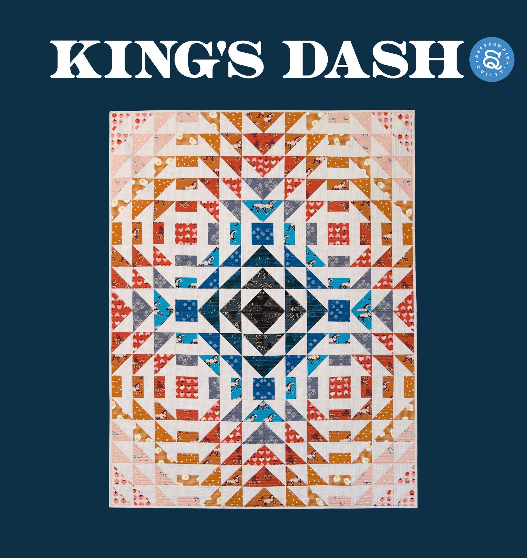 King's Dash Quilt Pattern (PDF)