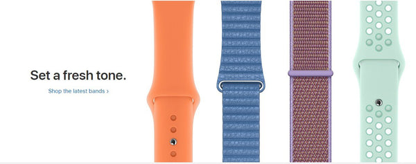 Spring is here, and these Apple Watch Bands Will help you celebrate