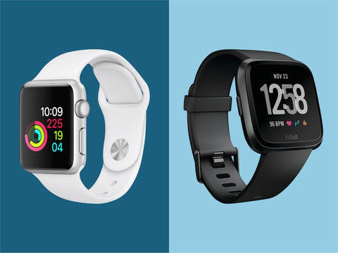 Fitbit V/s Apple Watch 4