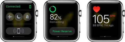Apple watch glances personalization