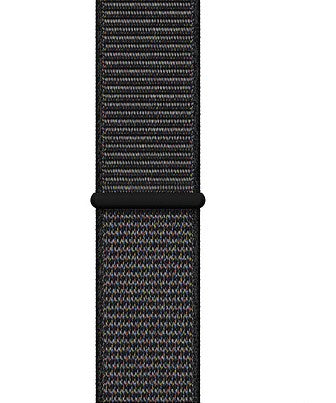 Apple Watch black sport loop