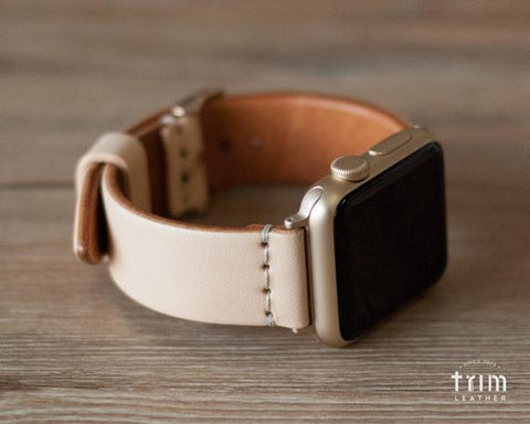 Natural vegetable tanned band