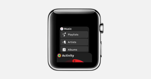 Music Apple watch