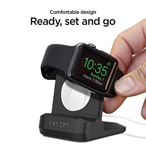 Spigen S350 Designed for Apple Watch Stand with Night Stand Mode for Series 4 / Series 3 / Series 2 / Series 1 / 44mm / 42mm / 40mm / 38mm