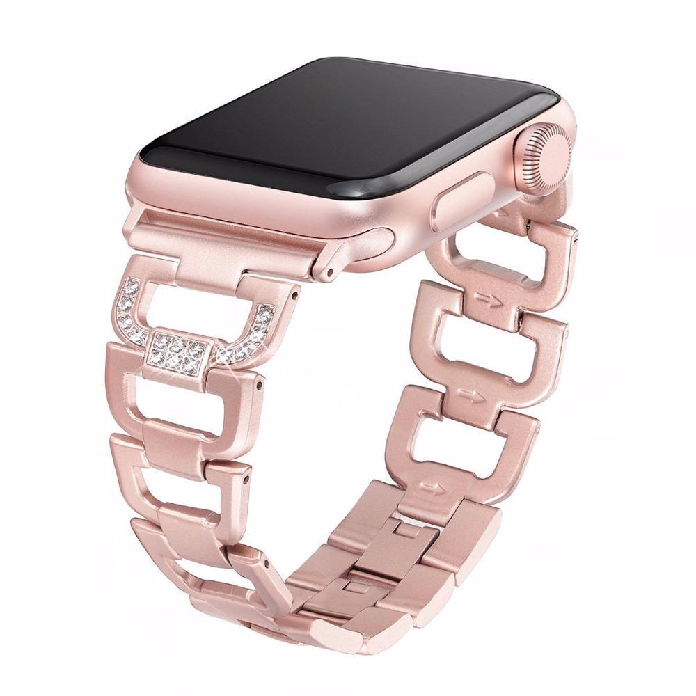 Limitless Bands Metal Rose Gold / 38mm Limitless Elegance Link Bracelet