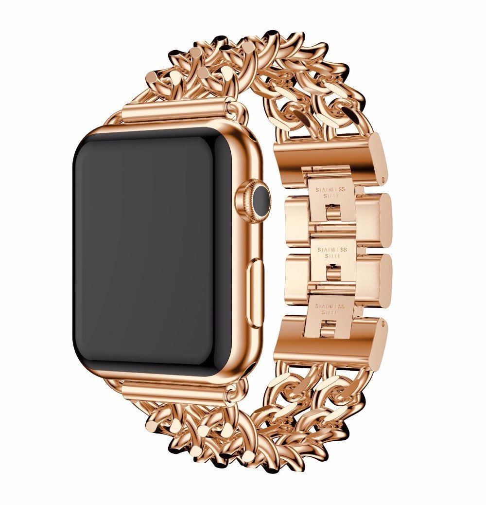 Limitless Bands Metal Rose Gold / 42mm Limitless Link Fusion Bracelet
