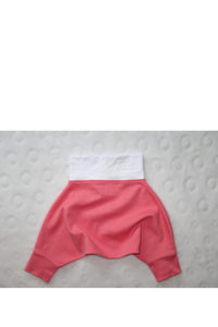 BABY PANTS: Baby pink cosy pants. ORGANIC COTTON