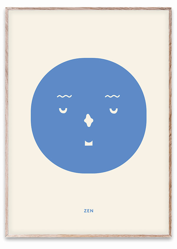 Poster Feelings Zen 30x40cm