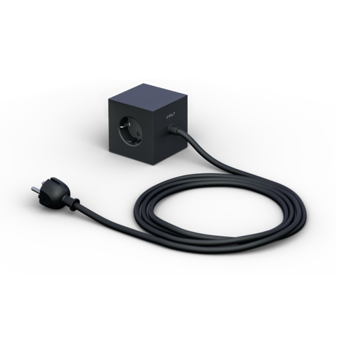 AVOLT Power extender square black