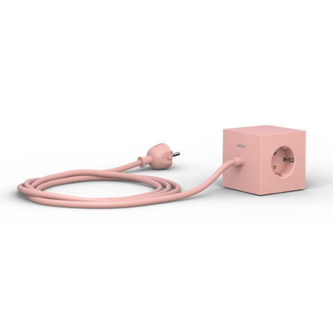 AVOLT Power extender square pink