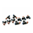 DeatschWerks 03-06 Dodge Viper (Drop In) / 92-02 Viper (Top Feed Only) 50lb Injectors - Set of 10 (16U-03-0050-10)