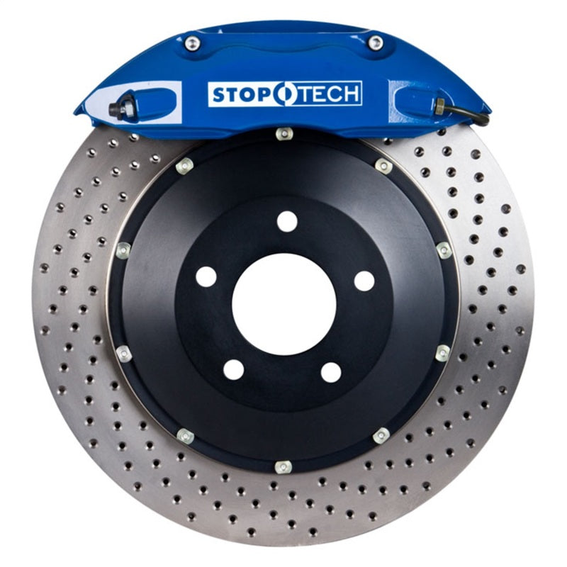 StopTech 05-09 Chrysler 300/300C 2WD Blue ST-40 Caliper Drilled 355x32 Rotor Rear BBK (83.241.0047.22)