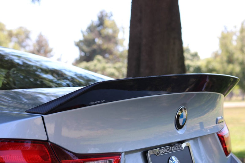 DINMANN CF - BMW F82 M4 HIGH KICK TRUNK SPOILER