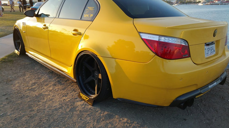 DINMANN CF - BMW E60 M5 - REAR SIDE BUMPER EXTENSIONS