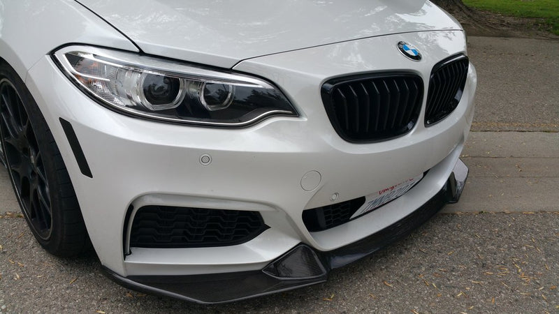 DINMANN CF - BMW F22 2 SERIES - FRONT LIP